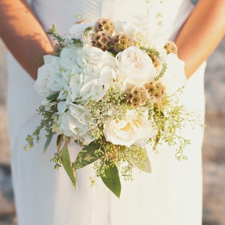Rustic Wedding Bouquet Hydrangea