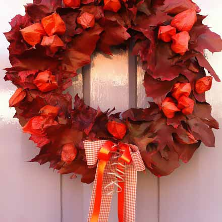 new forest wreath