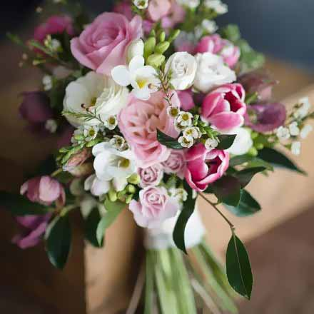 Rustic Spring Wedding Bouquet