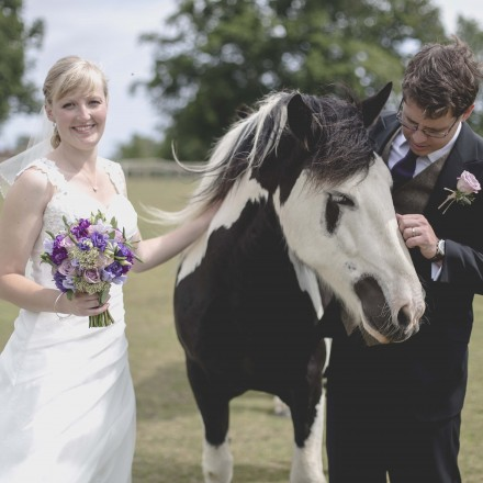 New Forest wedding florist