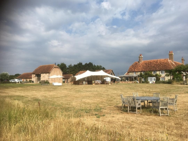 New Forest wedding venue Gins Barn