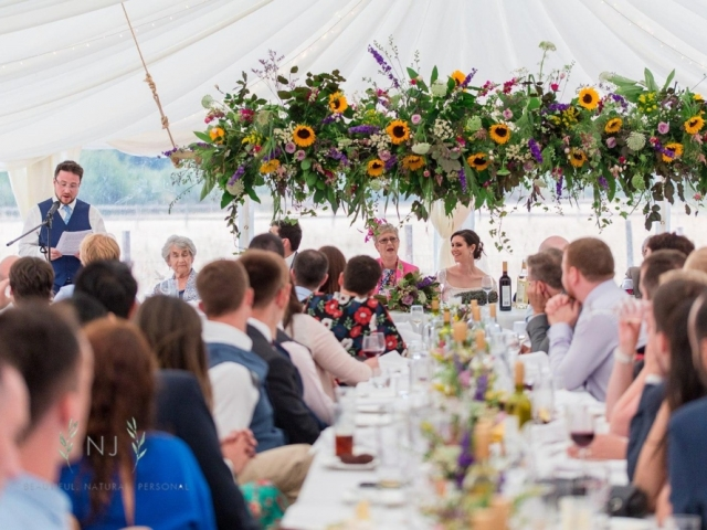HANGING GARDEN, HANGING FLORAL SWING, MARQUEE WEDDING, HANGING INSTALLATION WEDDING