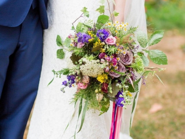 Wild country garden bridal bouquet, bridal flowers, wedding flowers, rustic wedding bouquet