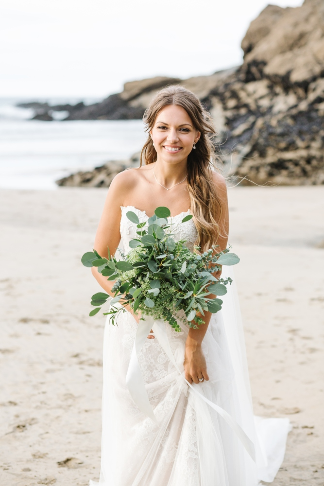 beach wedding eucalyptus wedding bouquet bridal bouquet, foliage wedding flowers