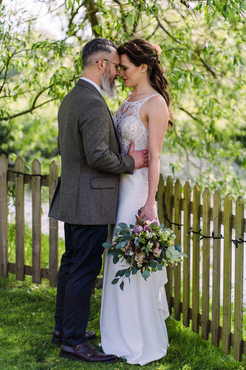 Sopley mill, bride and groom, they said I do, bridal bouquet, wedding flowers, dorset