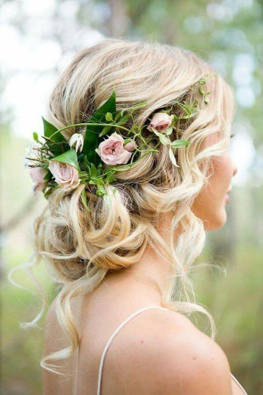 bridal hair flowers, wedding flowers, floral comb